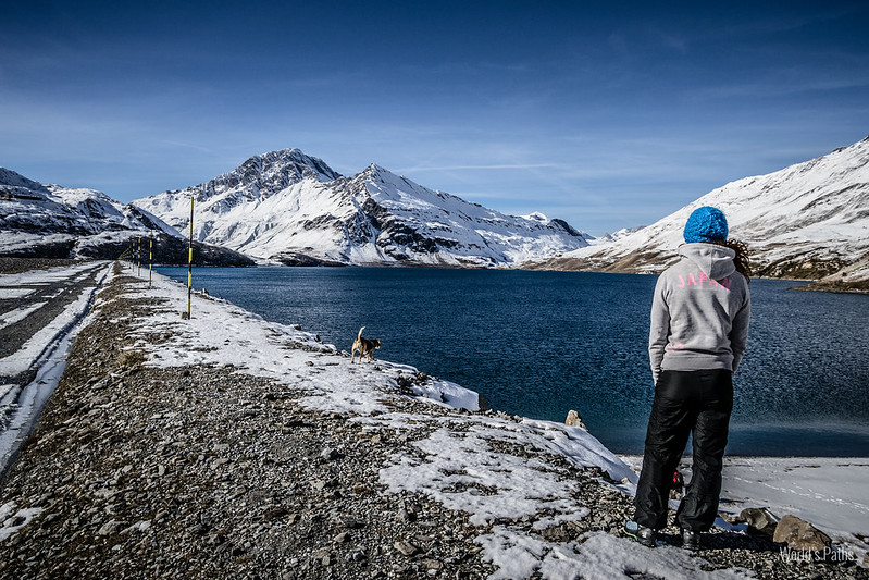 Lago del Moncenisio panorama