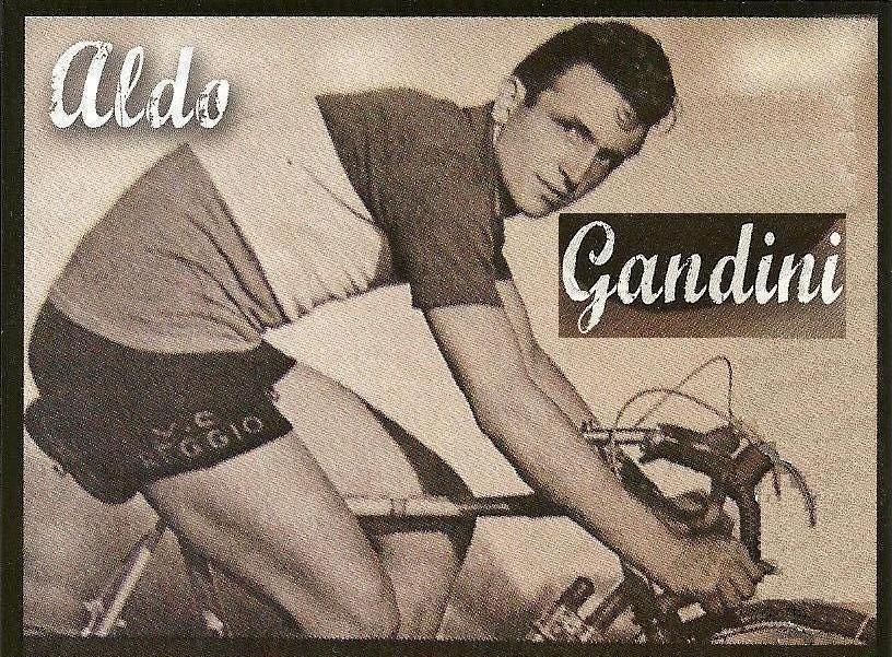 Aldo Gandini - campione italiano dilettanti inseguimento su pista 1949