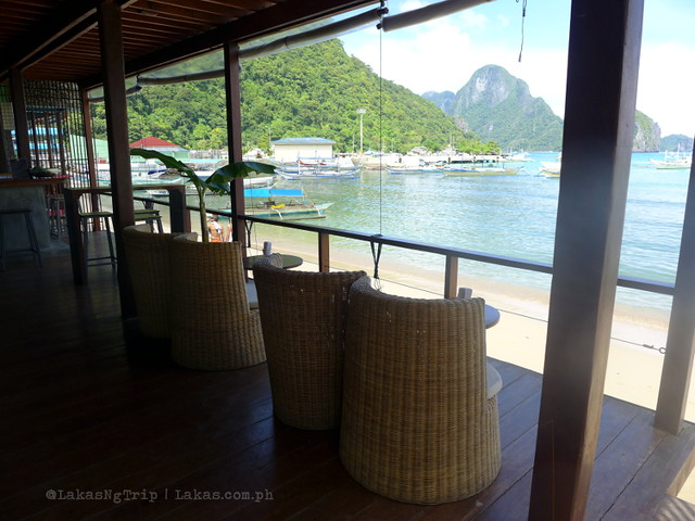 First floor or Mezzanine Restobar in El Nido, Palawan, Philippines