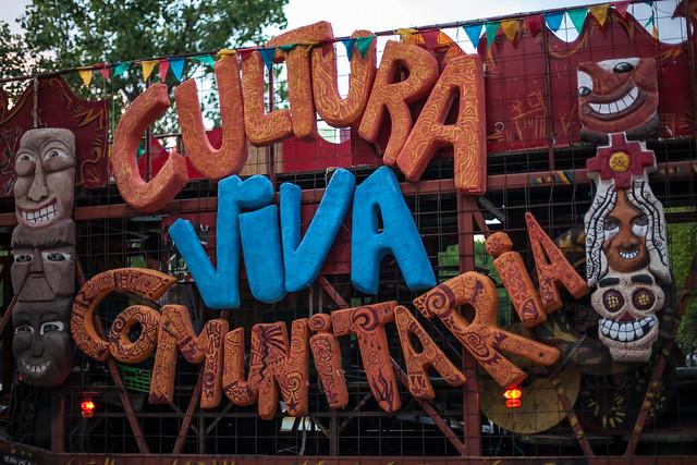 1º Conreso de Cutlura Viva Comunitaria de Argentina • Unquillo, Córdoba