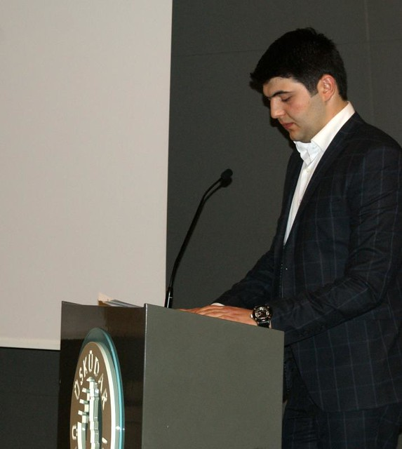 Üsküdar Üniversitesi öğrenci konsey başkanı seçildi.