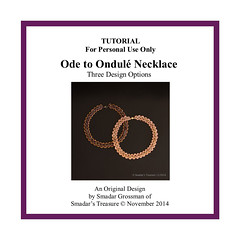 Beading Tutorial - Ode to Ondule Necklace