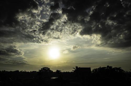 light sky sun landscape nikon aurora clou d5100