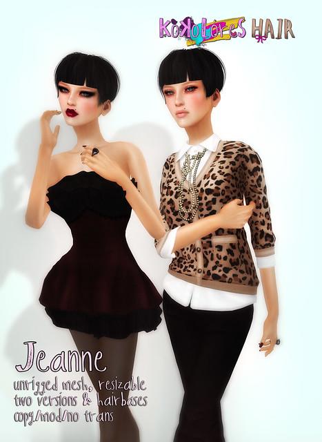 [KoKoLoReS] Hair - Jeanne