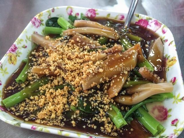 Sotong Kankung at Kim Fung Market