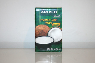 07 - Zutat Kokosnussmilch / Ingredient coconut milk