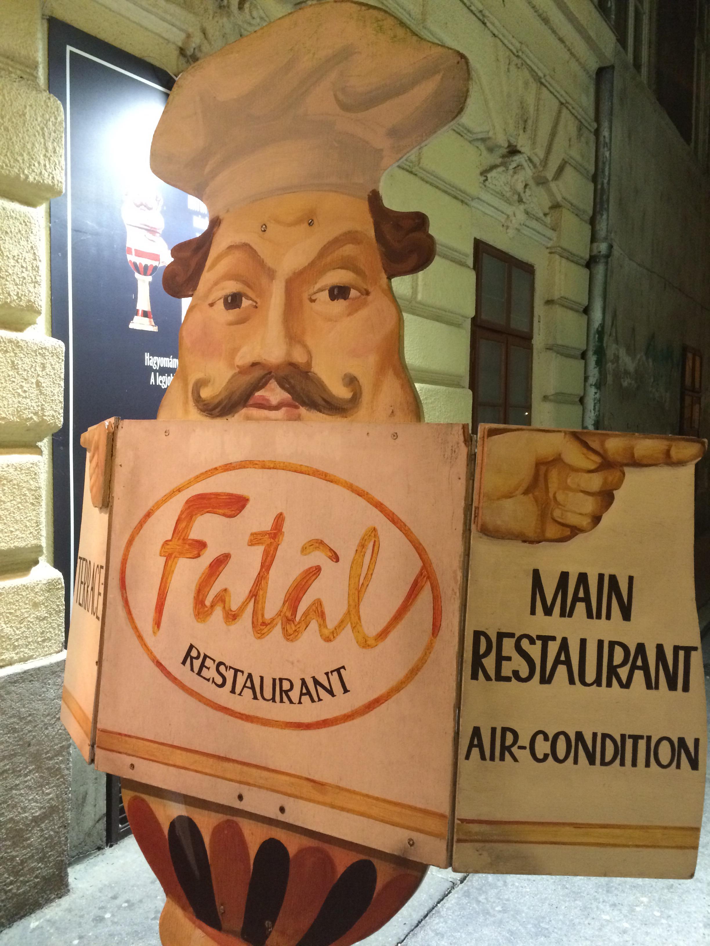 Restaurant Fatal in Budapest