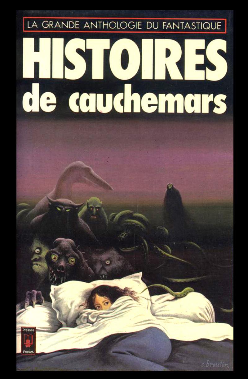Christian Broutin - Cover Art, Histoires de Cauchemars, 1977