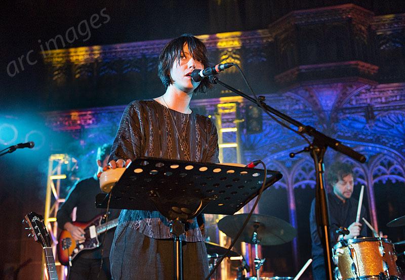 Sharon Van Etten, Manchester Cathedral, 24-11-14