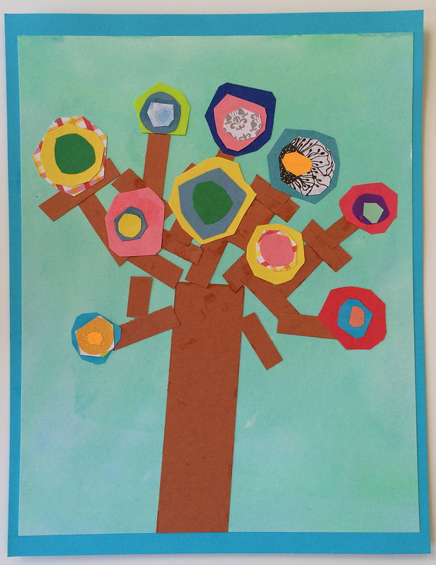 Kandinsky Circles Tree Project De Mello Teaching