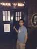 Ready to board the TARDIS