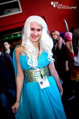 Daenerys Targaryen cosplay at Eirtakon 2014
