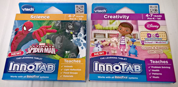 Vtech Innotab Learning Cartridges