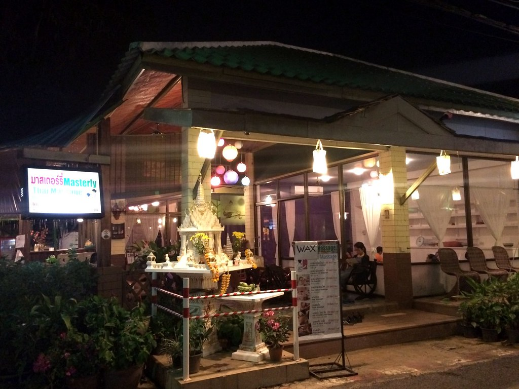 shopping and massage in Pai - night market-002