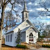 This little church was built in 1885 and is owned by the City of Calera, AL. It's available to rent out for weddings or receptions. From the city website:  The Calera Presbyterian Church is the oldest church building in the City of Calera, and one few rem