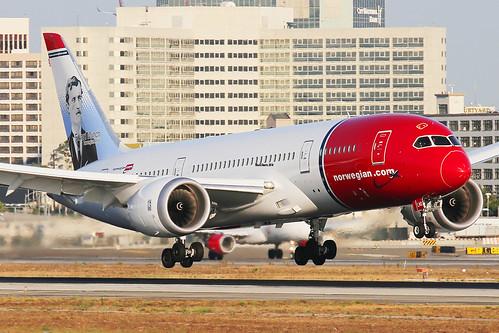 Norwegian Boeing 787-8 Dreamliner EI-LNG