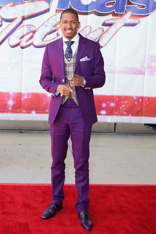 Purple Suit: Men's coloured suit | FashionCadet