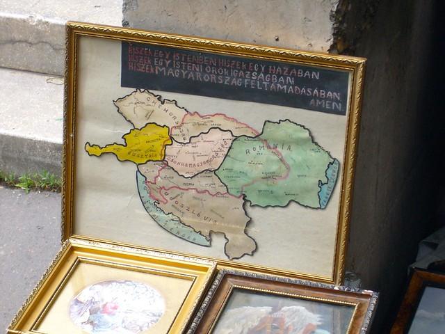 La Hongrie avant et après le traité du Trianon.