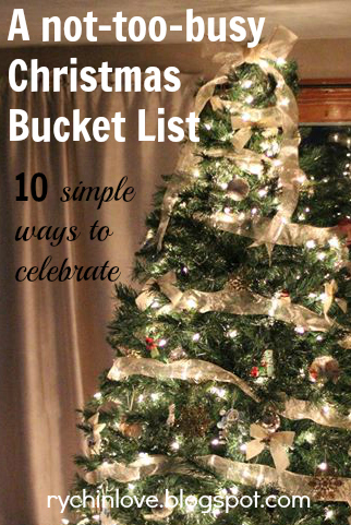 Simple Christmas Bucket List