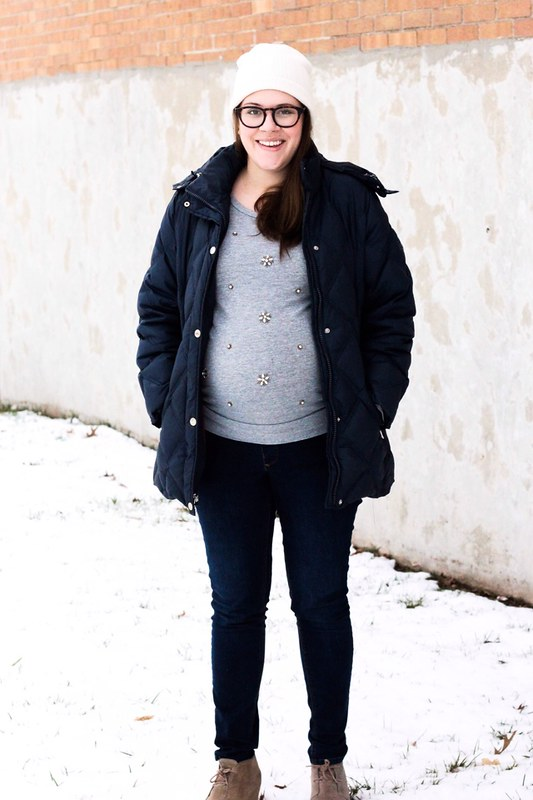 H&M maternity outfit