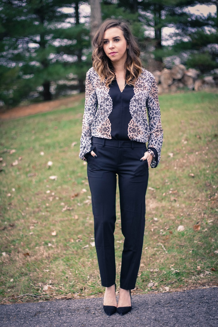 va darling. blogger. fashion blogger. dc blogger. piperlime momentsofchic. bcbgmaxazria. vince pants. work wear. office style. 4