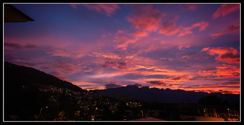 morning lake mountains sunrise ranges queenstown yellows reds remarkables canon6d