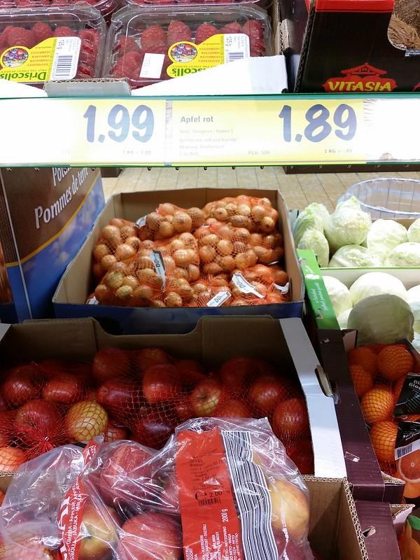 Цены на яблоки