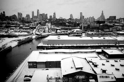 Gowanus and skyline