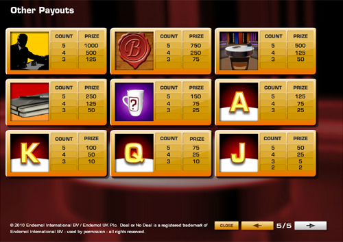 free Deal or No Deal UK slot mini symbol