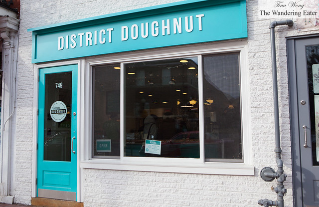 Exterior of District Doughnut