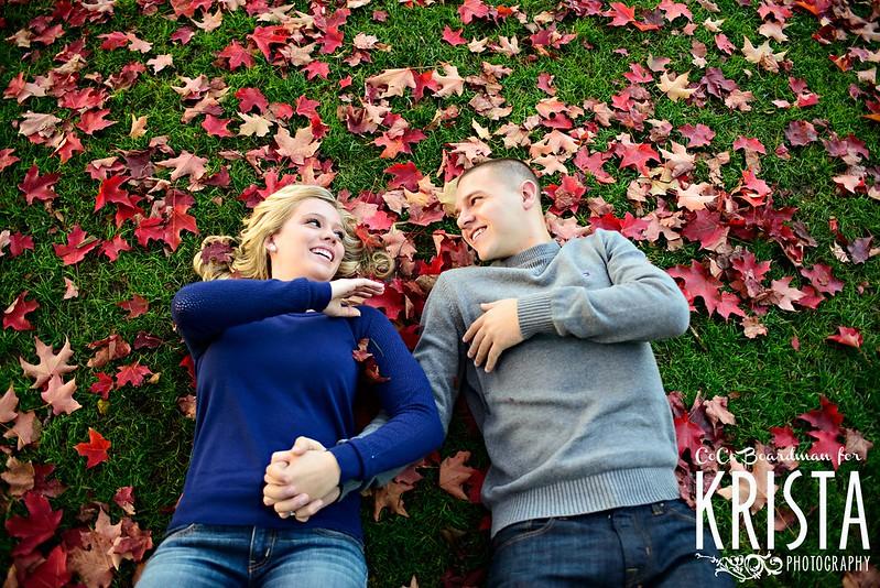 Engagement Portrait Session at Boston Public Garden
