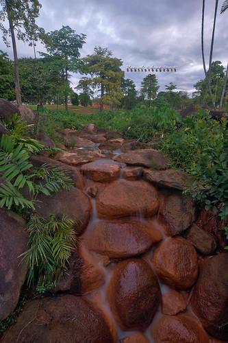 morning tourism landscape high interesting nikon scenery stream dynamic cloudy small places scene resort malaysia omar range hdr melaka d3 malacca famosa hidayat greatphotographers a shamsul photoengine oloneo