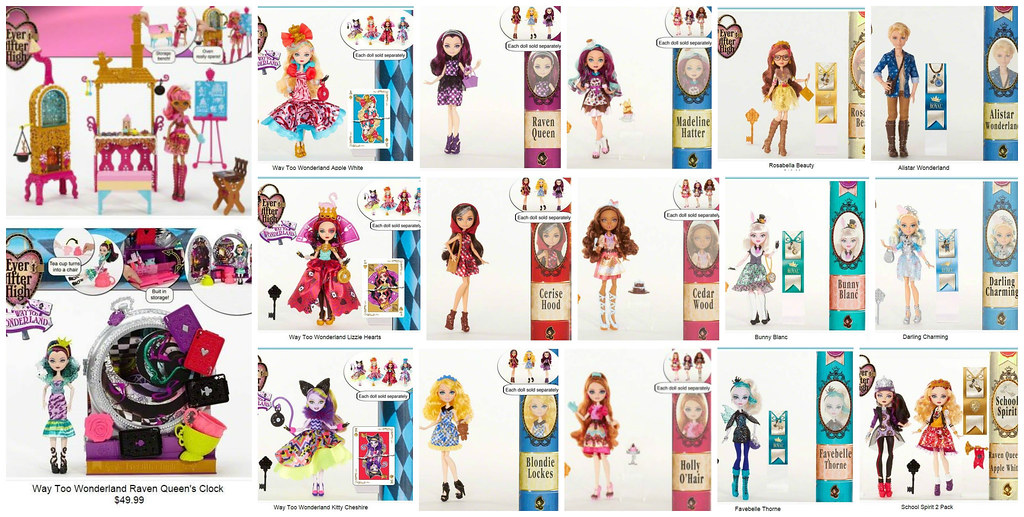 New Ever After High Dolls - a photo on Flickriver