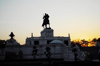 Image of King Naresuan Monument. phranakhonsiayutthaya themonumentofkingnaresuanthegreat