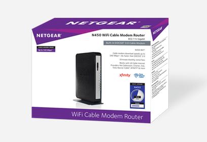 NETGEAR N450 box