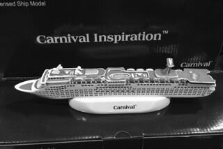 Carnival Inspiration - Ship Model