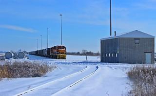 TP&W freight - Hoosier Lift, IN