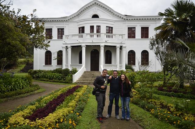 Mansión de la Hacienda la Compañía (Ecuador)