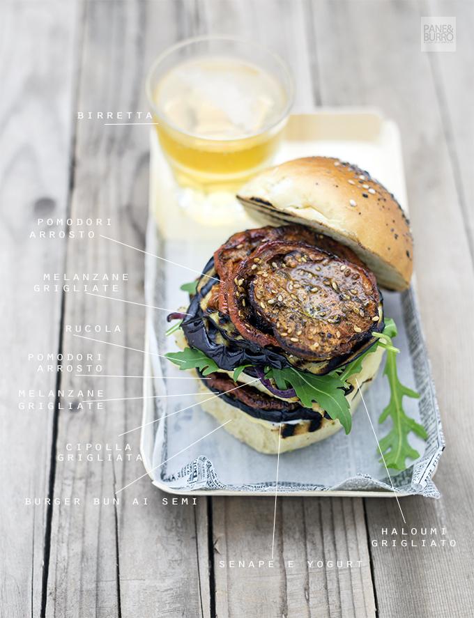 veg greek burger