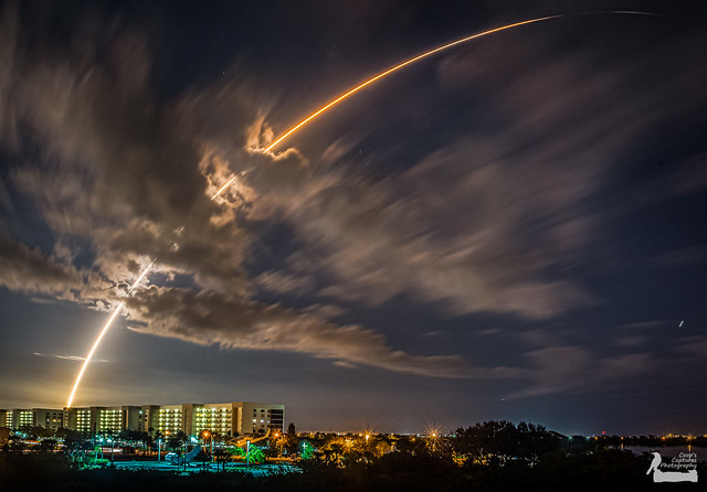 Paul Cooper - Atlas V rocket launch with MUOS 3