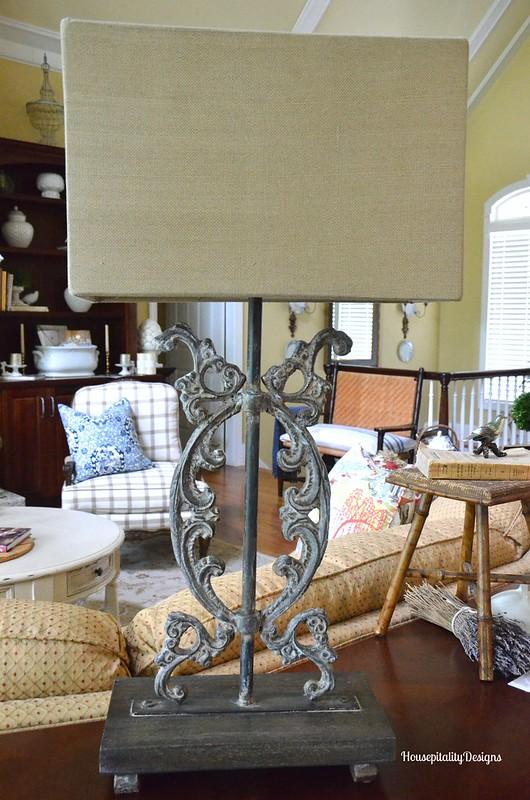 Iron Lamp - Housepitality Designs