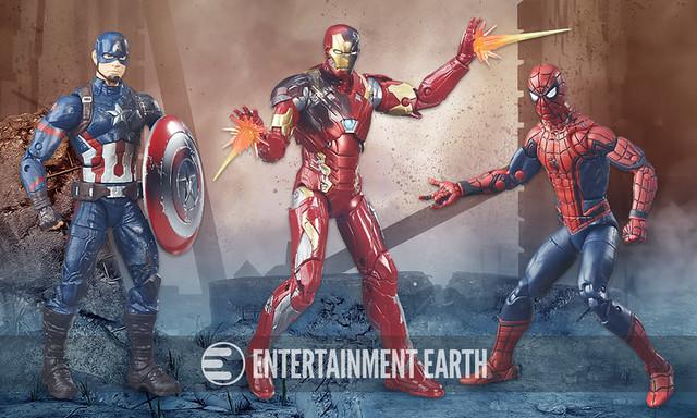 【官圖&販售資訊公開!】孩之寶將推出《美國隊長:英雄內戰》豪華套裝組 Captain America: Civil War Marvel Legends set