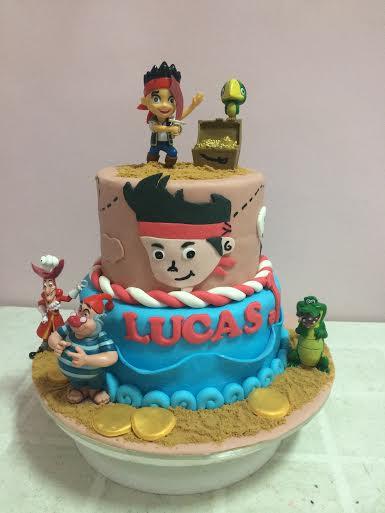 Pirate's Cake by Jonalyn