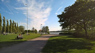 Kuva Tervanokan uimaranta lähellä Järvenpää. beach finland järvenpää tuusulanjärvi jarvenpaa rantapuisto traskanda järvenpäänjärvi