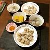 水餃與玉米湯的組合