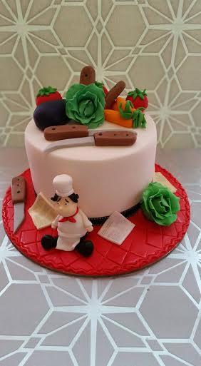 Master Chef's Cake by Edyta Kowalczyk Madej
