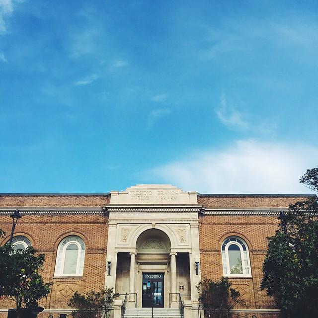presidio library, san francisco