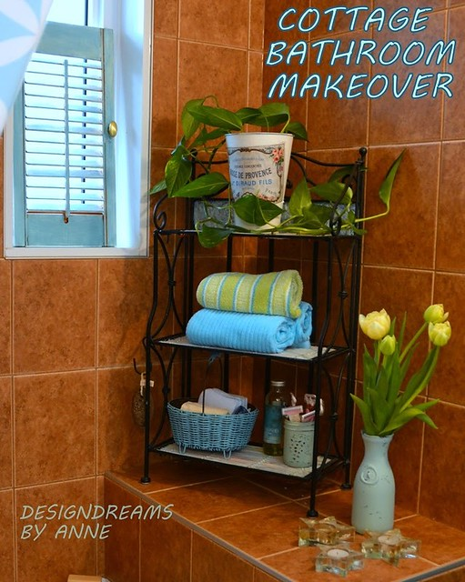 Cottage Bathroom Makeover 1