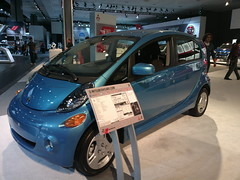automobile, mitsubishi i miev, mitsubishi i, supermini, vehicle, automotive design, auto show, mitsubishi, city car, land vehicle, electric vehicle,