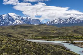 Torres del paine landscape